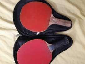 Raquetas de pinpon