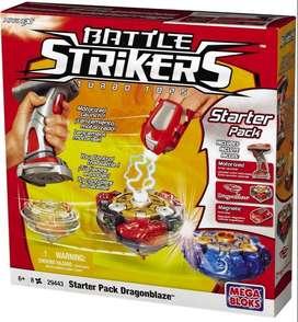 Mega Bloks Battle Strikers Turbo Top Starterpack Dragonblaze