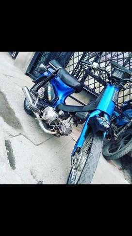 Vendo moto barata Vendo jailing super cub 99 modelo 2007
