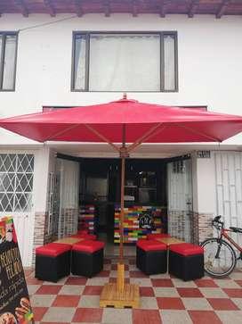 Parasol rectangular