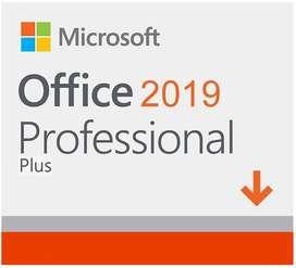 Office 2019 PRO Plus Licencia 5 PCS