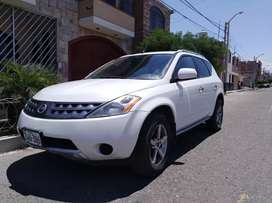 Camioneta suv Nissan Murano 2007 V6 3.5cc