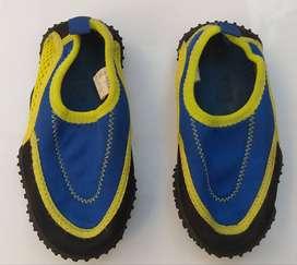 Zapatillas Niño Water Socks Neoprene Para El Agua USA USADAS