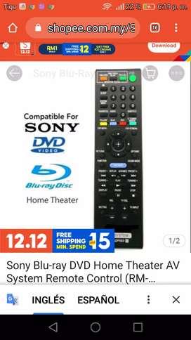 Control ORIGINAL teatro en casa blu-ray SONY 3D