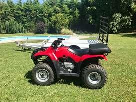 Cuatriciclo Honda Recon ES (Secuencial) + Trailer ATV + 2 Cascos