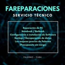 Reparación de PC - Palermo