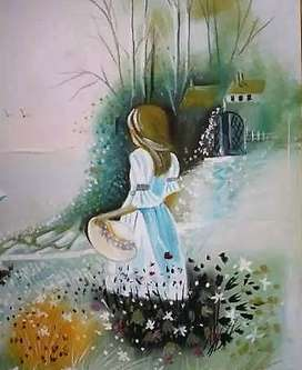 Vendo o Cambio Pintura Contreras Tiza Pastel 60x80