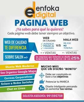 Agencia de páginas web
