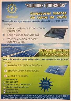 Instalación paneles solares fotovoltaicos