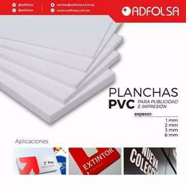 Venta de Planchas PVC