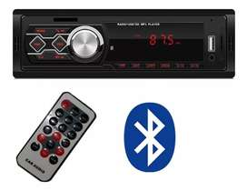 Stereo Fijo Sd/mp3/usb/aux Radio Fm Bluetooth Autostereo