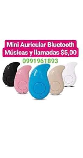Mini Auricular Bluetooth Música Y Llamad