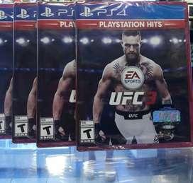 UFC 3 PS4 NUEVO SELLADO