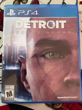 Detroit become human - juegos ps4