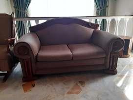 Sofá cama con herraje