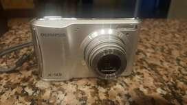 Cámara De Fotos Olympus X-43 14mp Funcionando