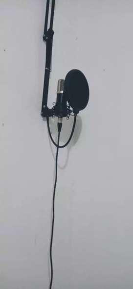 Vendo micrófono profesional e interfaz (pecio negociable )