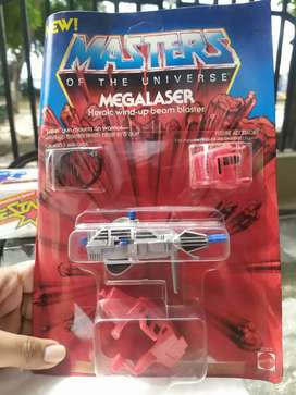 MOTU MASTER OF THE UNIVERSE MEGALASER ACCESORIOS