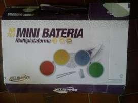 Batería Mini Electrónica Net Runner Para PS2 PS3 Wii Para Juegos Rock Band