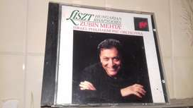 Liszt Hungarian rhapsodies. Zubin Metha Made in Austria