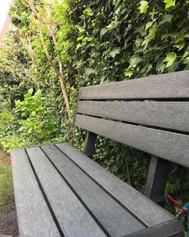 banca -  silla en madera plástica