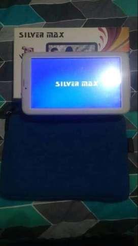 Vendo tablet silver en perfecto estado