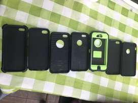 Se vende forro para iphone 5 y 5s y se todo estan casi nuevo y abuen precio hay desde 10 asta 20 son vario diseño