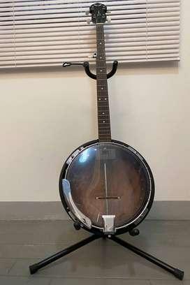 BANJO Nuevo Americano de marca Dean Backwoods:  2 Acoustic Electrico