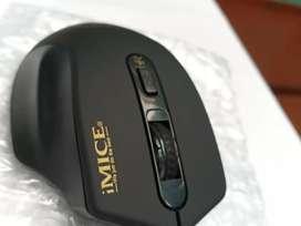 Ratón inalámbrico USB 2.0 Silencioso