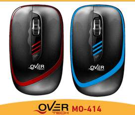 MOUSE USB 1600 DPI 4 BOTONES OVERTECH OFFICE RATON PC ESCRITORIO NETOBOOK NOTEBOOK ENVÍOS