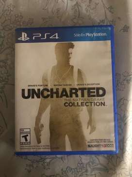 Vendo juego de play 4 uncharted the nathan drake collection