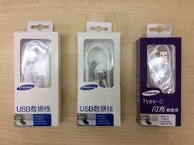 Cable 2A Micro, Tipo C Usb Carga Rapida Samsung Original s5,6,7,8