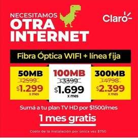 Wifi Fibra óptica para tu casa o departamento
