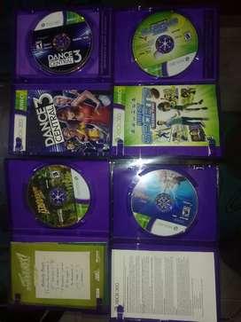 4 súper juegos de Xbox originales de kinet cada una  a 50.000