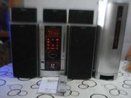 Home Minicomponente Sony Hcd Az5d C/subwoffer Alumi Excelent
