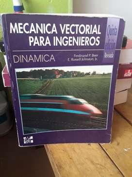 Dinámica mecánica vectorial para ingenieros quinta edición revisada Beer johnston