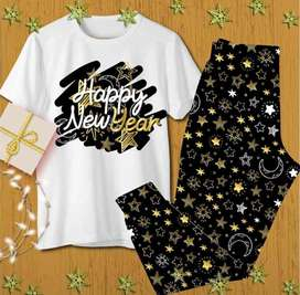 PIJAMAS AÑO NUEVO NEW YEAR EN TELA SUPER SUAVE PIEL DE DURAZNO LAS MEJORES PIJAMAS PARA AÑO NUEVO LISTAS PARA LA FOTO
