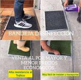 Bandeja de desinfectar calzados