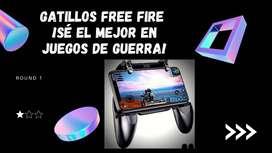 Gatillos Free Fire:  ¡Sé el mejor en juegos de Guerra!