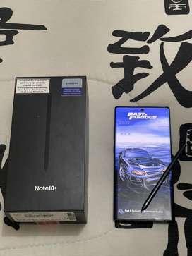 Celular Samsung Note 10 Plus de 512GB + Reloj Smart + Galaxy Buds