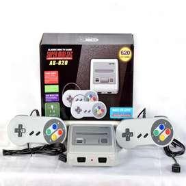 Consola Video Juegos Super Mi Mini X2 Controles 620 Juegos