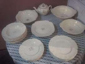 "Fina Porcelana Antigua Inglesa Jonhson Brothers ""Victorian"""