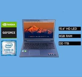 "Laptop Lenovo CORE I5 8GB 1TB 15.6"" HD"