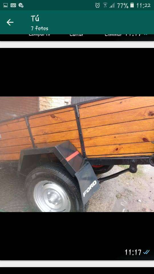 vendo trailer precio negociable 0