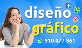 Servicio de diseño grafico ONLINE, logotipos,afiches, volantes 9IO47786I DISEÑADOR