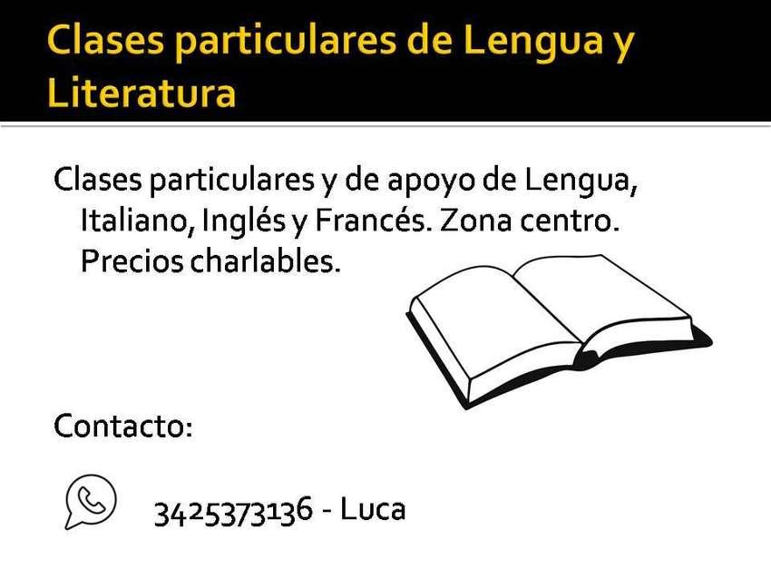 Clases particulares Lengua y Literatura