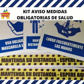 kit de señalizacion obligatoria