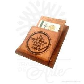 Caja tarjetero cerrado para personalizar - Precio COP