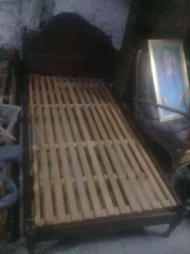Cama d cedro 1p