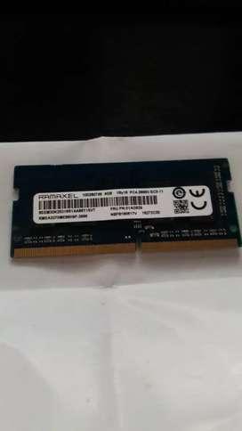 Memoria ram portatil de 4gb